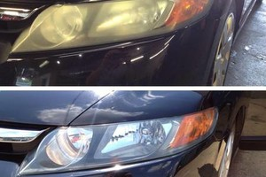 Photo #3: Head Light Cleaning