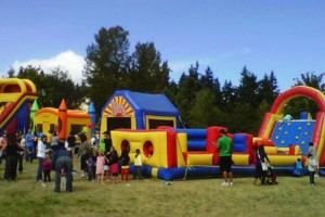 Photo #1: WE BOUNCE AROUND. BOUNCE HOUSES AND INFLATABLES FOR RENT