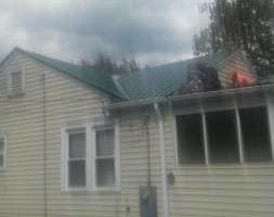 Photo #1: Metal Roofing and Decks