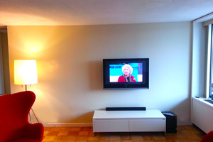 Photo #1: Vultron LLC. TV Installation on Drywall