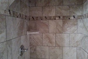 Photo #2: Tile floors and showers at affordable prices!