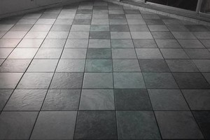 Photo #1: Tile floors and showers at affordable prices!