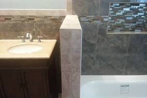 Photo #4: Adam's Tile And Bathroom Remodels!!