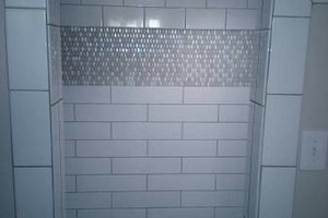 Photo #1: Adam's Tile And Bathroom Remodels!!