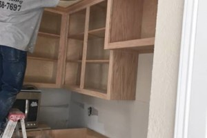 Photo #3: Kitchen Cabinets - Built new Cabinets or Re-face