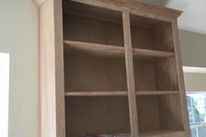 Photo #2: Kitchen Cabinets - Built new Cabinets or Re-face