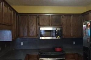 Photo #1: Kitchen Cabinets - Built new Cabinets or Re-face