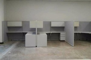 Photo #2: OFFICE FURNITURE/ CUBICLE INSTALLERS. RECONFIGURE/MOVING