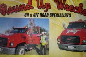 Photo #1: Auto Towing. Round Up Wrecker
