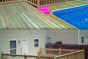 Photo #20: DOCKENS Construction. Privacy fence-decks-patio covers