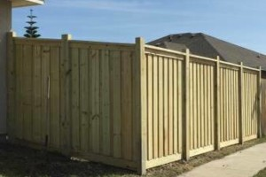 Photo #18: DOCKENS Construction. Privacy fence-decks-patio covers