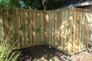 Photo #17: DOCKENS Construction. Privacy fence-decks-patio covers