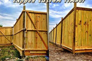 Photo #15: DOCKENS Construction. Privacy fence-decks-patio covers
