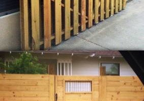 Photo #11: DOCKENS Construction. Privacy fence-decks-patio covers