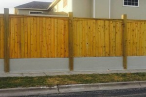 Photo #10: DOCKENS Construction. Privacy fence-decks-patio covers