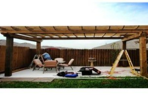 Photo #9: DOCKENS Construction. Privacy fence-decks-patio covers