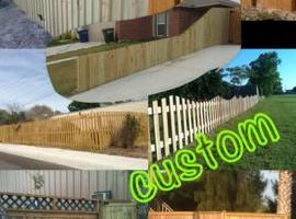 Photo #6: DOCKENS Construction. Privacy fence-decks-patio covers