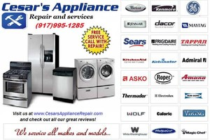 Photo #1: NYC RELIABLE APPLIANCE REPAIR / SAME DAY SERVICE