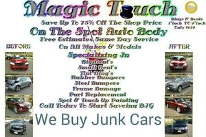Photo #1: Magic touch mobile dent repair save 75% free estimate same day service