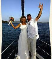 Photo #1: Celebrate WEDDINGS TO BIRTHDAYS ON A PRIVATE SAILING YACHT