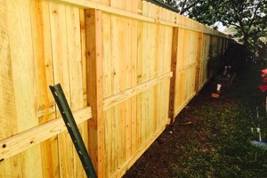 Photo #3: Need a fence? $10/ft & up.