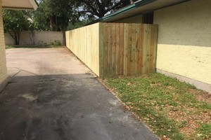 Photo #2: Need a fence? $10/ft & up.