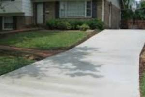 Photo #1: Corpus Concrete driveways