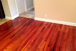 Photo #1: Carl Wheeler floors. HARDWOOD And LAMINATE FLOORING