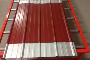 Photo #2: Metal roofing (several colors in stock)