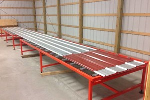 Photo #1: Metal roofing (several colors in stock)