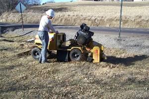 Photo #6: Stump Grinding - Omaha Stump Grinding & Landscape Service