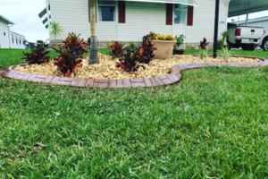 Photo #1: Cypress Curbs LLC. Concrete, Landscape, Curbing & Borders