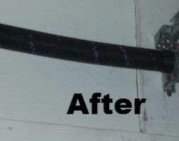 Photo #2: Carlos garage door service. Garage Door Spring $89