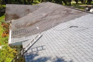 Photo #1: HYDRO WASH. Roof Cleaning Restoration