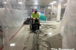 Photo #6: FLOOR REMOVAL TILE - THINSET - WOOD - CARPET