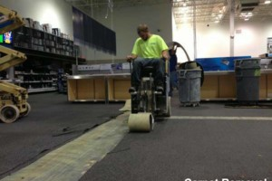 Photo #4: FLOOR REMOVAL TILE - THINSET - WOOD - CARPET