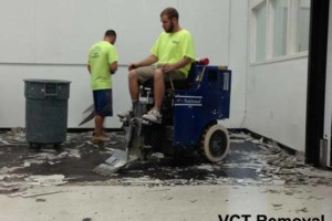 Photo #3: FLOOR REMOVAL TILE - THINSET - WOOD - CARPET