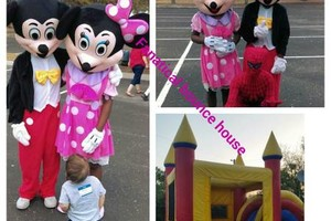 Photo #2: Bounce house and costume character