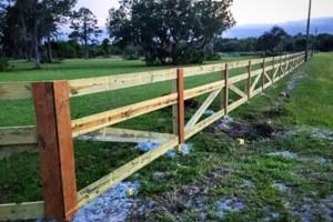 Photo #5: Evan's Custom Fence install