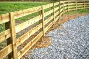 Photo #3: Evan's Custom Fence install