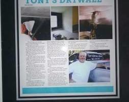 Photo #5: Tony's Drywall Repair
