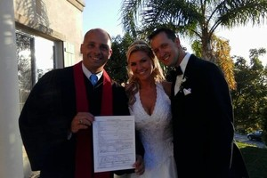 Photo #2: Ordained Minister/Wedding Officiant - Rev. Michael Woods