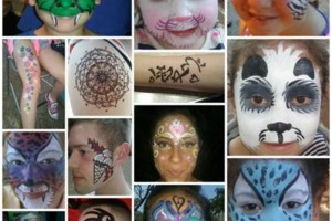 Photo #1: FACE painting, belly paintng and Henna