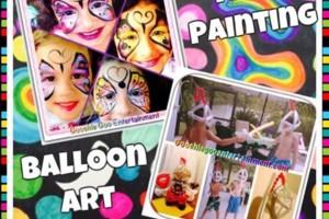 Photo #5: Goochie Goo Entertainment. Face Painting, Balloon Artist...