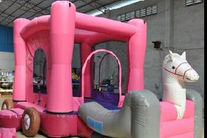 Photo #1: Bounce houses / inflatables for rent