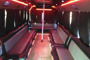 Photo #2: PARTY BUS FOR RENT (PINK OR BLACK BUS)