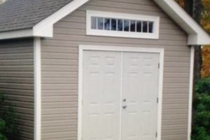 Photo #3: Jerry's Custom Shed's. Built to match house or any style you like