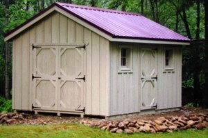 Photo #2: Jerry's Custom Shed's. Built to match house or any style you like