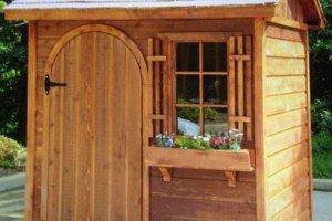 Photo #1: Jerry's Custom Shed's. Built to match house or any style you like