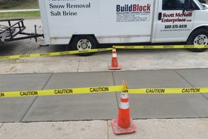Photo #8: Concrete surfaces/Foundation crack injection